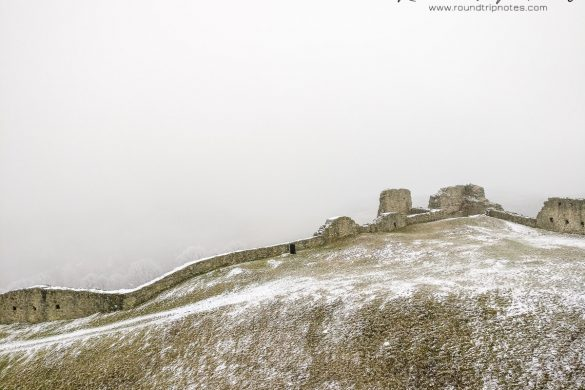 Branč Castle - Outer Walls