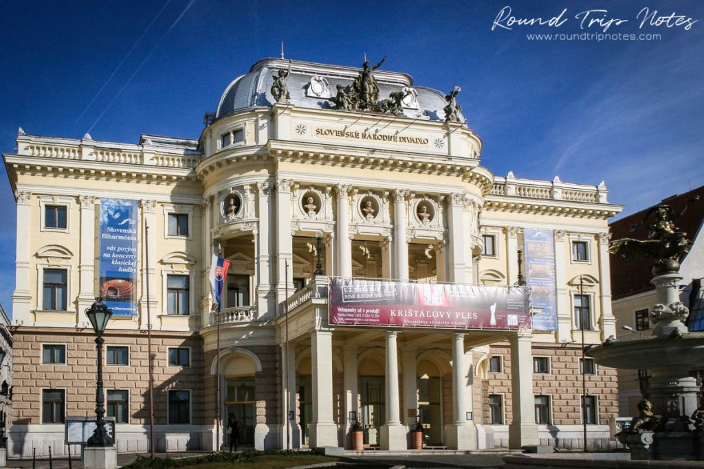 Slovak National Theatre - Old building