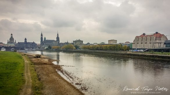View of Dresden from the Japanese Palace