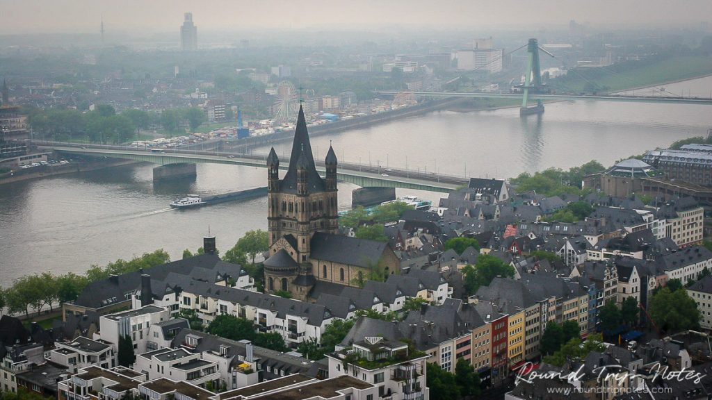 View of Cologne from the Bell Tower