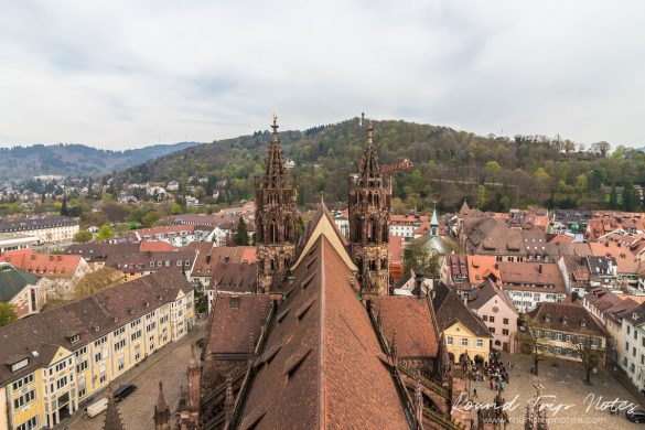 City view from the bell tower