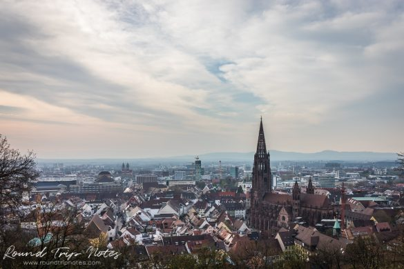 View of Freiburg from the Schlossberg