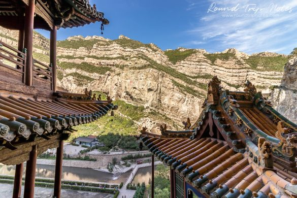View from the Hanging Temple