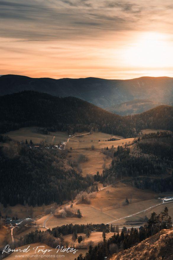 Mountain Ridge Hohe Wand in Lower Austria
