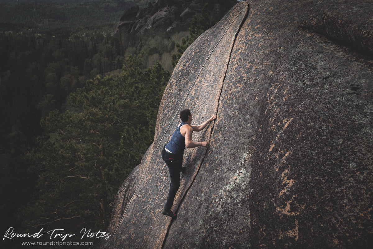 Stolby Nature Sanctuary - Stolbism and free solo climbing