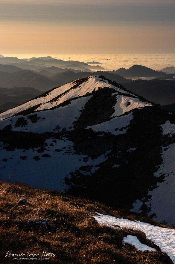 Cloud Inversion: Mount Ötscher 1.893 m (6,211 ft)